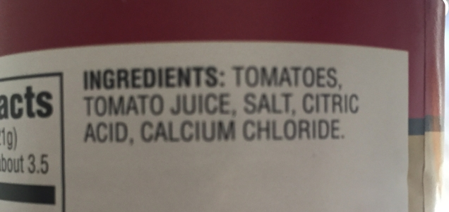 This is actually okay - refer to the list of ingredients that you can eat.