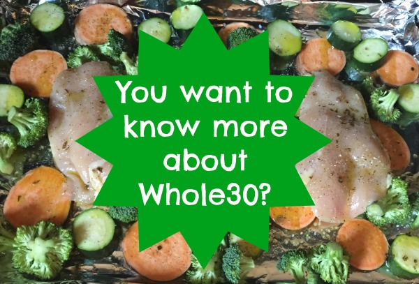 You want to know more about whole30